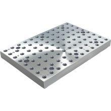 Plaque de base en fonte grise avec trame modulaire - Industrie online