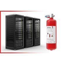 Protection incendie modulaire serveur informatique REFLEX 2KG / 2 m3 - Industrie online