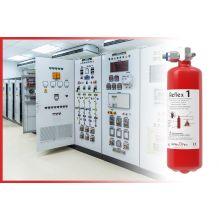 Protection incendie modulaire armoire électrique TGBT REFLEX 2KG / 2 m3 - Industrie online