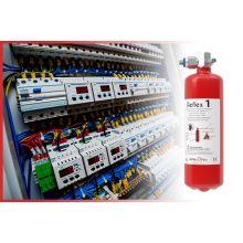Protection incendie modulaire coffrets de commande REFLEX 1,5KG / 1,5 m3 - Industrie online