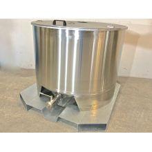 Cuve inox 304 - 6.45 HL - Industrie online