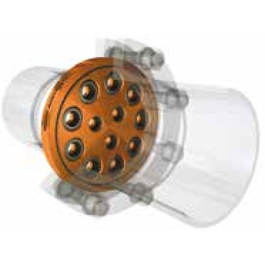 BT-Maric Limiteur/Régulateur de débit - type Wafer en bronze industriel - 100% mécanique - Industrie online
