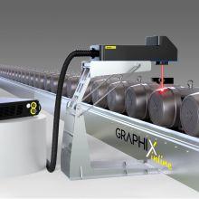 Machine de marquage laser intégrée Graphix - Industrie online