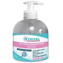 Gel hydroalcoolique - Désinfectant des mains - Industrie online