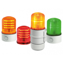 FLR S et SLR S : avertisseurs à LED multifonctionnels - Industrie online