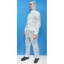 Combinaison jetable PP blanc - Industrie online