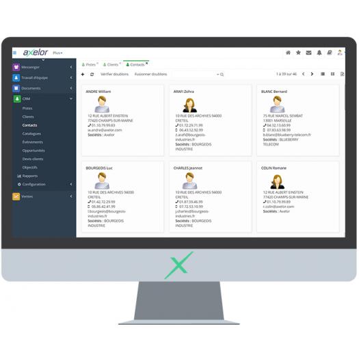 Axelor CRM - Industrie online