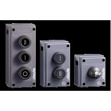 Boîte à bouton radio pour zones 2G / 2D - Industrie online