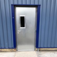 Portes métalliques coupe-feu et anti-effraction - Industrie online