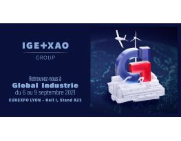 IGE+XAO au Global Industrie 2021 (Hall 1 Stand A23) - Industrie online