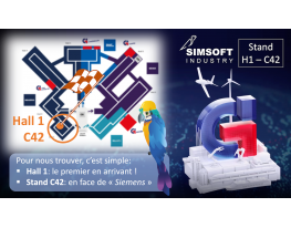 SIMSOFT INDUSTRY au salon Global Industry 2021 - Industrie online