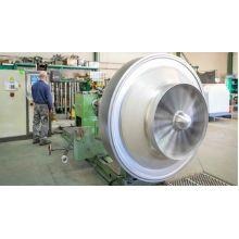 Rétro-conception d'un rotor de compresseur de vapeur - Industrie online