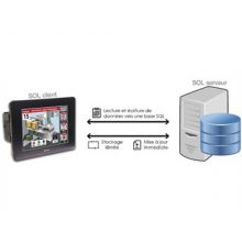 L'API + IHM intégrée Unistream d'Unitronics intègre la fonction SQL ! - Industrie online