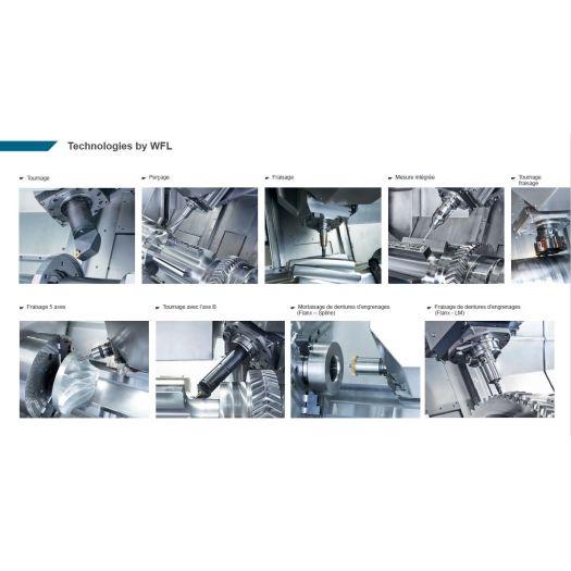 Tour-Fraiseur - WFL Millturn Technologies - M20 - Industrie online